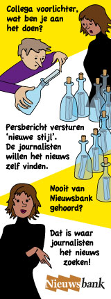 Cartoon van Maja Vojt